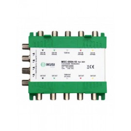 MSC-0504-10 - Multiswitch cascadable 5 entradas 4 salidas -10 dB.