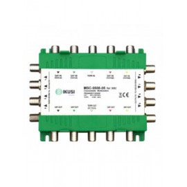 MSC-0508-05 - Multiswitch cascadable 5 entradas 8 salidas -5 dB