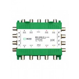 MSC-0508-10 - Multiswitch cascadable 5 entradas 8 salidas -5 dB