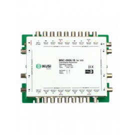 MSC-0906-15 - Multiswitch cascadable con 9 entradas y 6 salidas -15 dB