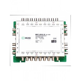 MSC-0910-10 - Multiswitch cascadable con 9 entradas y 10 salidas -10 dB.
