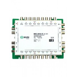 MSC-0910-15 - Multiswitch cascadable con 9 entradas y 10 salidas -15 dB