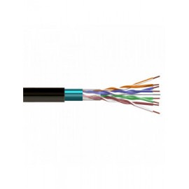 CAB-FTP5N - Cable FTP Cat.- 5E HDPE ext. Negro, 305 m, CCA