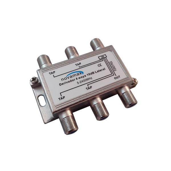 Novamax NV031410L - Derivador de 4 salidas y 10dB.