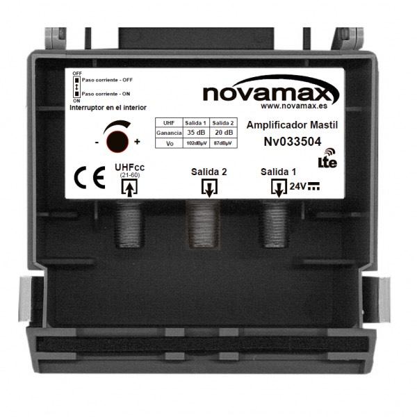 Amplificador de mástil Novamax, NV033504