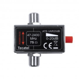 ATE-VAR20 - Atenuador Variable RF-FI 20dB