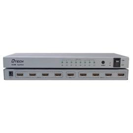 Multiplicador de señal HDMI, HDMI-SPLITTER-8-4K