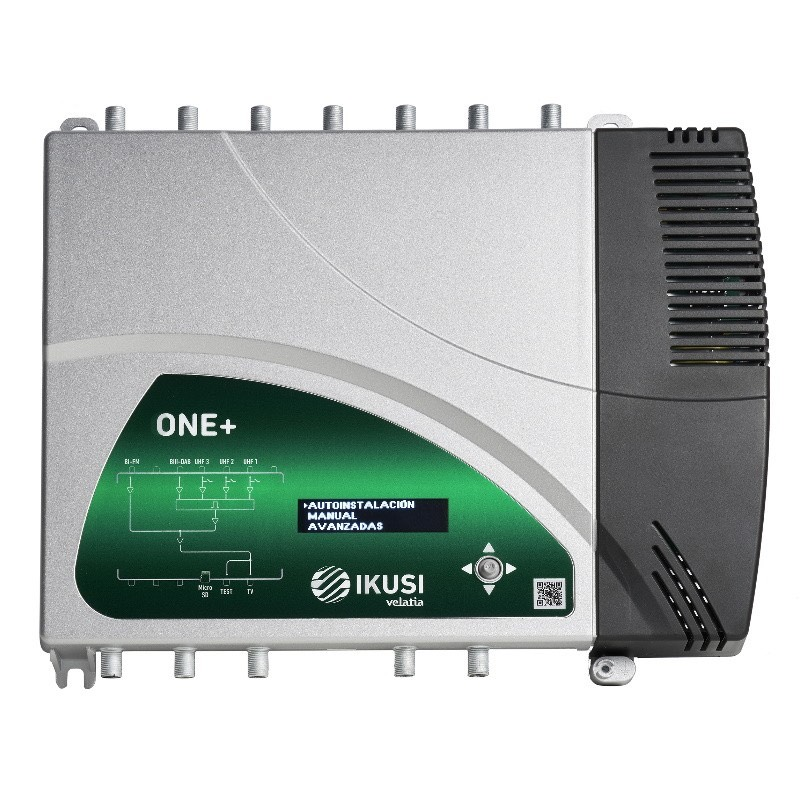 Ikusi One+, Central Amplificadora de señal
