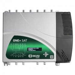 Ikusi One+ Sat, central amplificadora de señal
