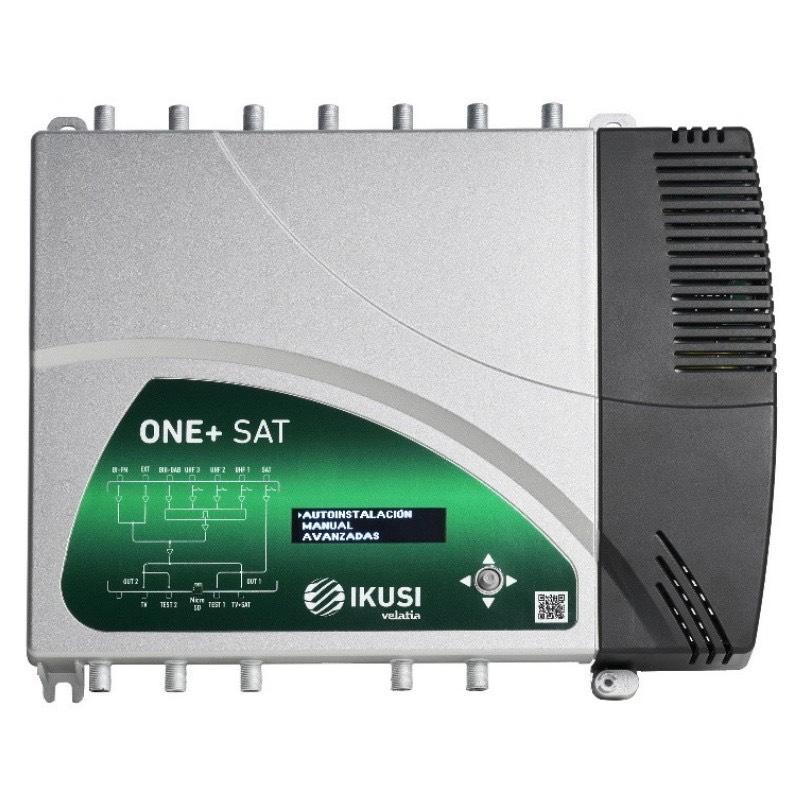 Ikusi One+ Sat, central amplificadora de señal