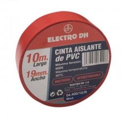 04.400/10/R - Cinta Aislante de PVC Roja