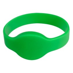 MIFARE-BAND-G - Pulsera de Proximidad Verde