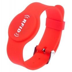 RFID-BAND-ADJ-R - Pulsera de Proximidad Roja