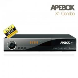 APEBOX X1 - Receptor Combo FULL HD H.265 Multimedia