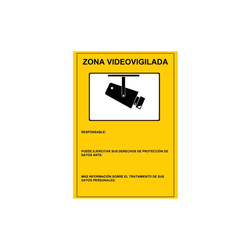 AC-CARTEL-ES - Cartel Zona Videovigilada