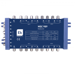 Multiswitch TER+8SAT, MSC 989