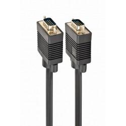 CC-PPVGA-10M-B - Cable para monitor VGA HD15 macho a HD15 macho, 15m