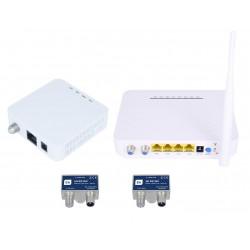 EK KIT-IP-W - Kit para extensión de IPTV y WiFi