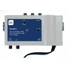 Central 2 entradas VHF/UHF, CA-422-L