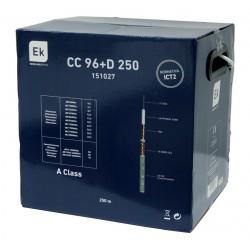 Cable Coaxial 6.8mm 96 hilos LSZH CPR Dca Blanco