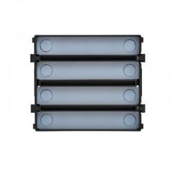 Tegui 375008 - Módulo electrónico de 8 pulsadores en 2 columnas