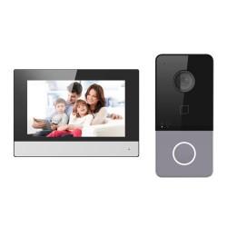 Safire SF-VIK002-S-WIP - Kit de Videoportero con Tecnología IP y Wifi.
