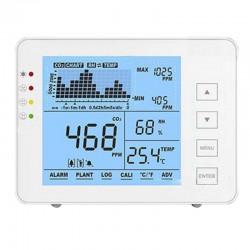MT-CO2-1200P - Medidor de CO2, temperatura y humedad.