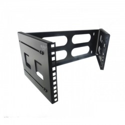 "Keynet FR15-0442-4 - Bastidor rack 19"" a pared plegable y ajustable"