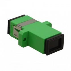 Keynet TA-SA207-S-N-BX - Adaptador Simplex de fibra óptica SC
