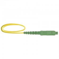 Keynet TF-PSA12-Y015 - Pigtail Monomodo SC/APC de 1,5 metros.