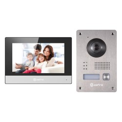 Safire SF-VIK004-S-2 - Kit de Videoportero con tecnología 2 hilos.