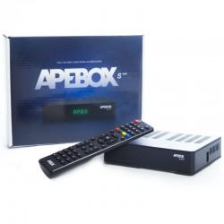 APEBOX S WIFI - Receptor de satélite con wifi y lector de tarjetas
