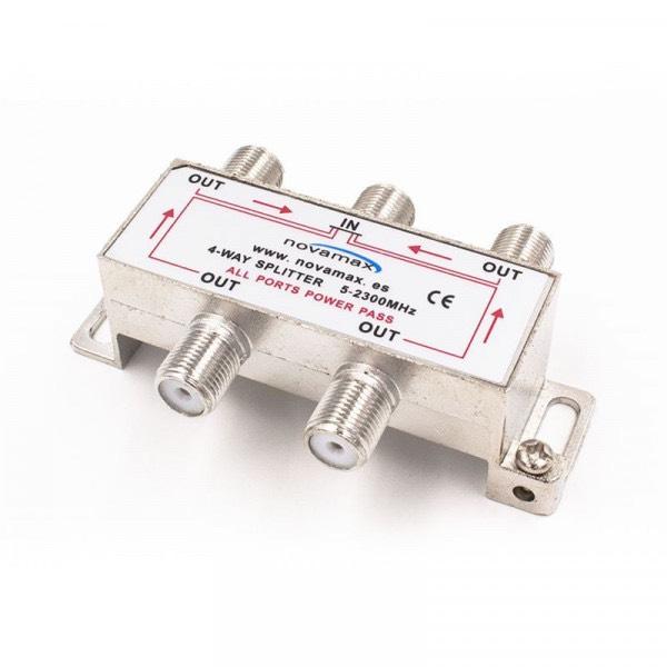 NV030004L - Repartidor de 4 salidas