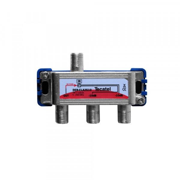 DER-CLA2S10 - Derivador serie Class A 2 sal. 10 dB