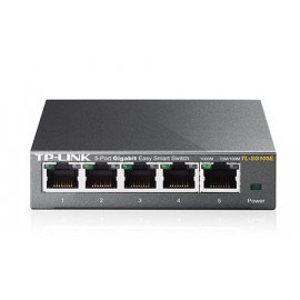 TL-SG105E - Switch Easy Smart de 8 puertos Gigabit