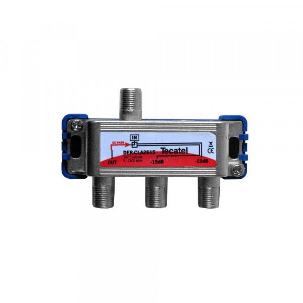 DER-CLA2S15 - Derivador serie Class A 2 sal. 15 dB