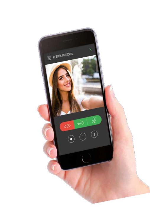 videoportero wifi con aplicacion para celulares y tablets