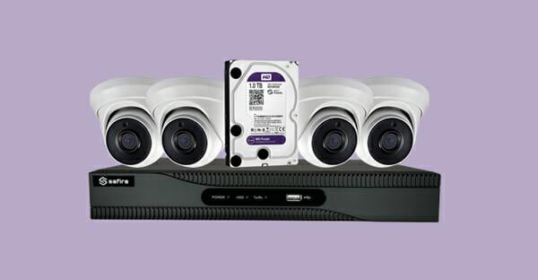 Equipos de videovigilancia CCTV
